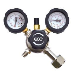 Pressure Reducer FIXICONTROL Ar 2 manometers GCE
